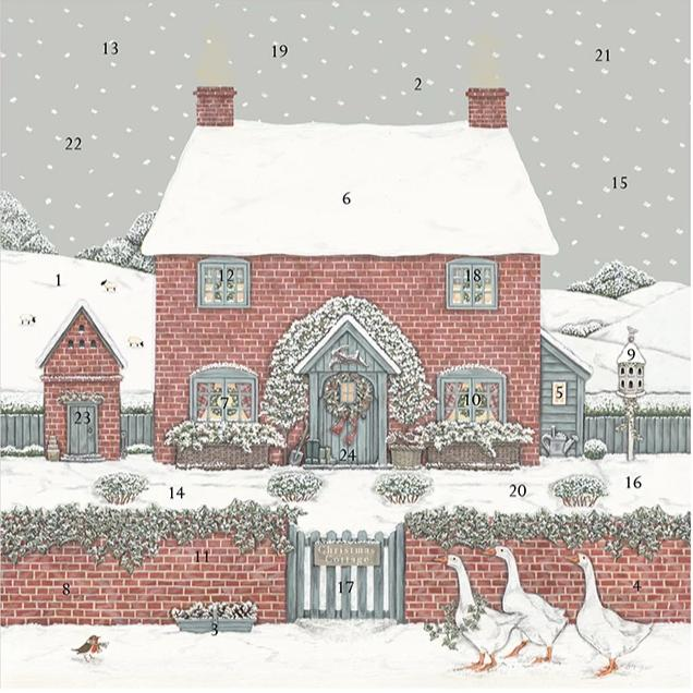 ADVENT CALENDAR | CHRISTMAS COTTAGE
