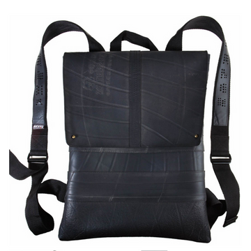 RECYCLED RUBBER BACKPACK