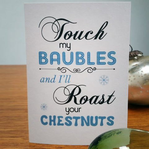 CARD | TOUCH MY BAUBLES