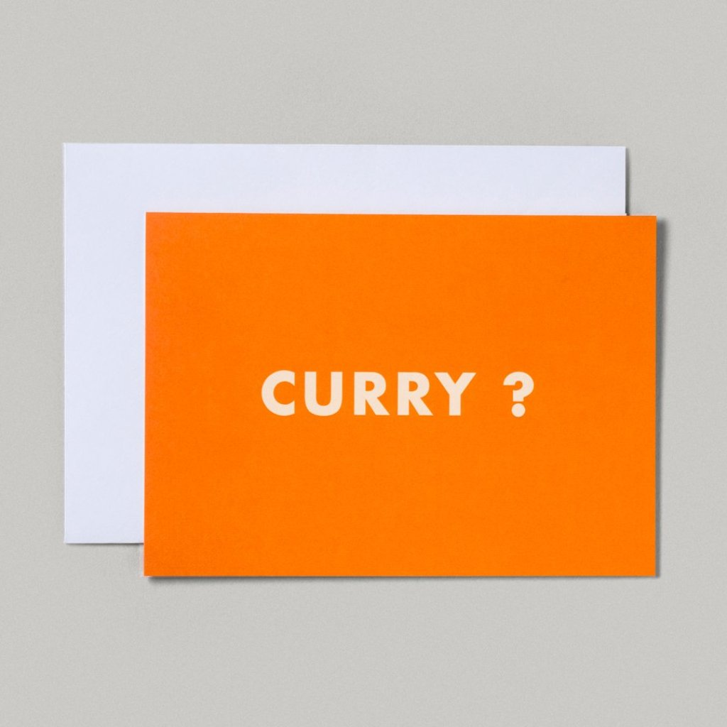 CARD | CURRY?