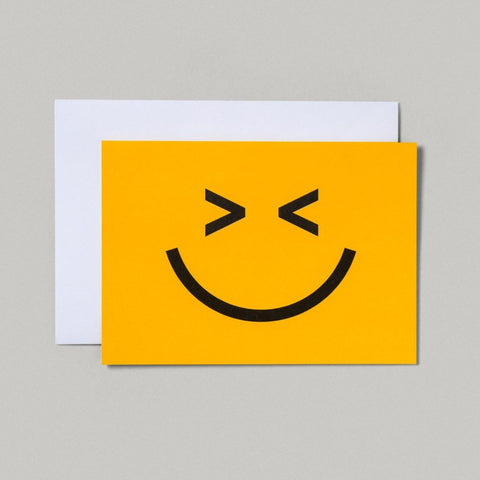 CARD | DOUBLE WINK SMILEY FACE