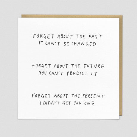 CARD | FORGET