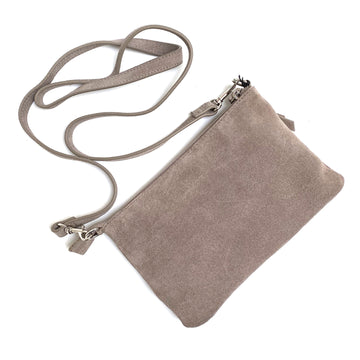 SUEDE LEATHER CROSSBODY SMALL