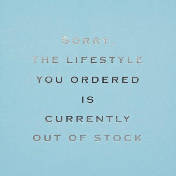 CARD | LIFESTYLE YOU ORDERED