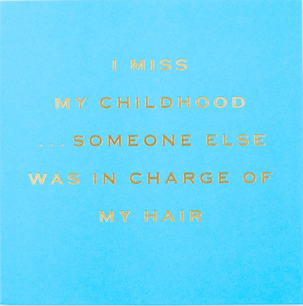 CARD | I MISS MY CHILDHOOD