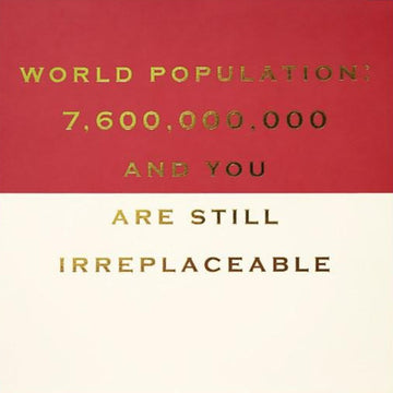 CARD | IRREPLACEABLE
