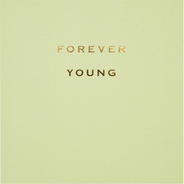 CARD | FOREVER YOUNG
