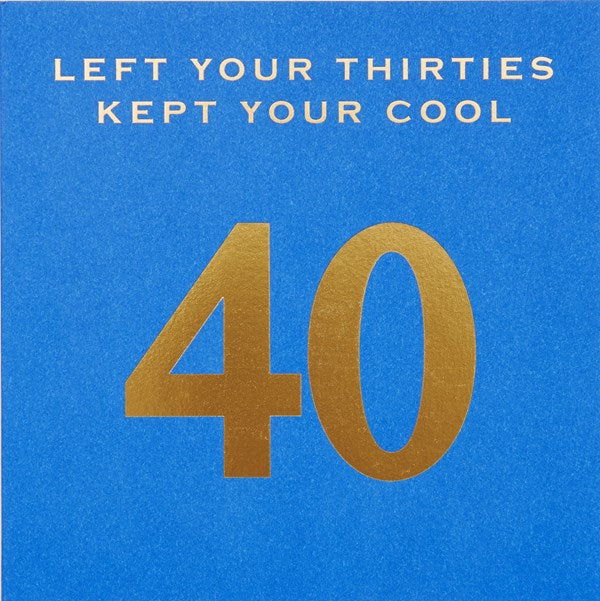 CARD | KEPT MY COOL 40