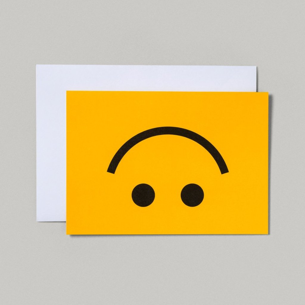 CARD | INVERT SMILEY FACE