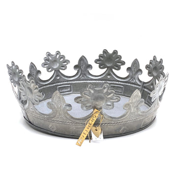 WALTHER & CO ZINC EMBOSSED CROWN