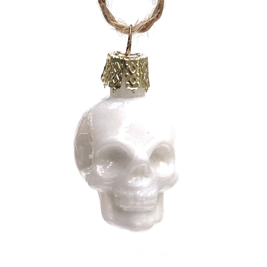 SMALL SKULL BAUBLE | 4 COLOURS