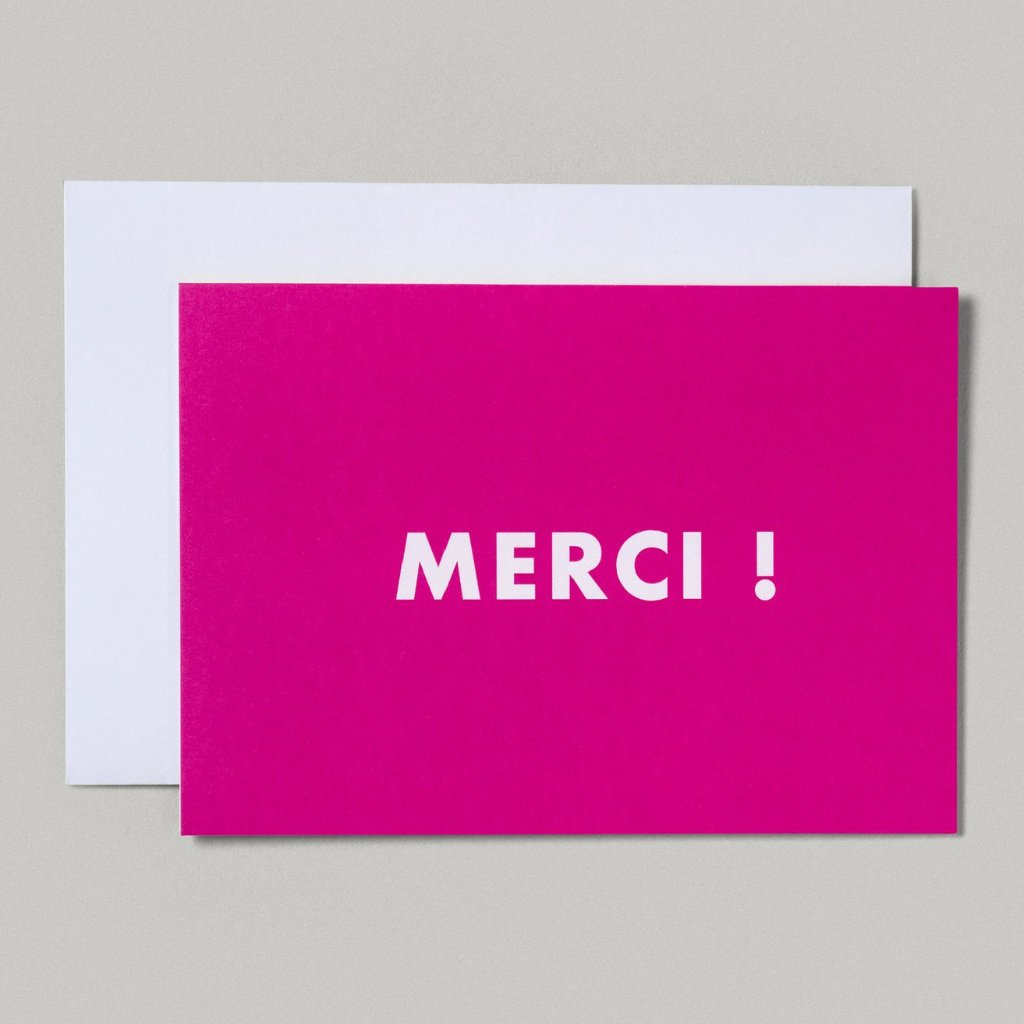 CARD | MERCI!