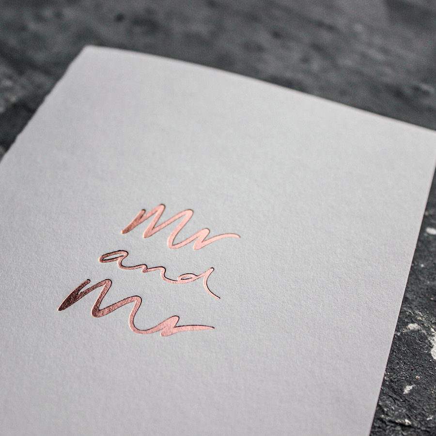 CARD | MR AND MR