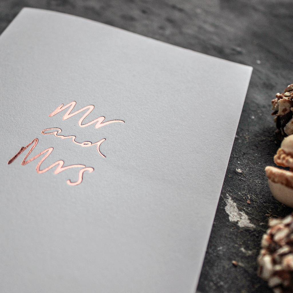 CARD | MR & MRS