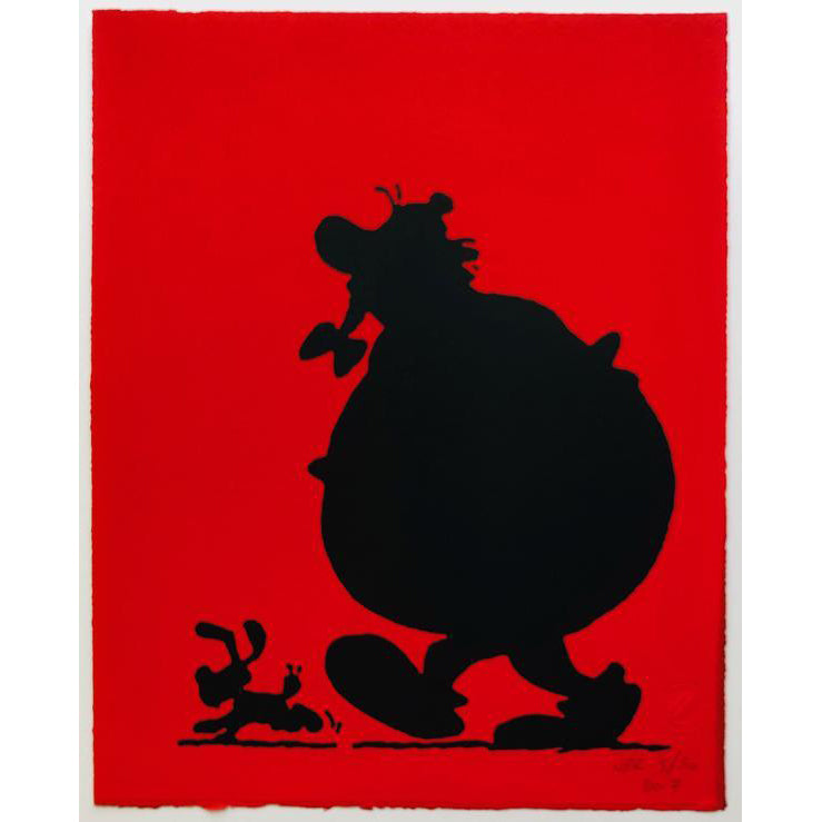 ASTERIX COMIC SCREENPRINT