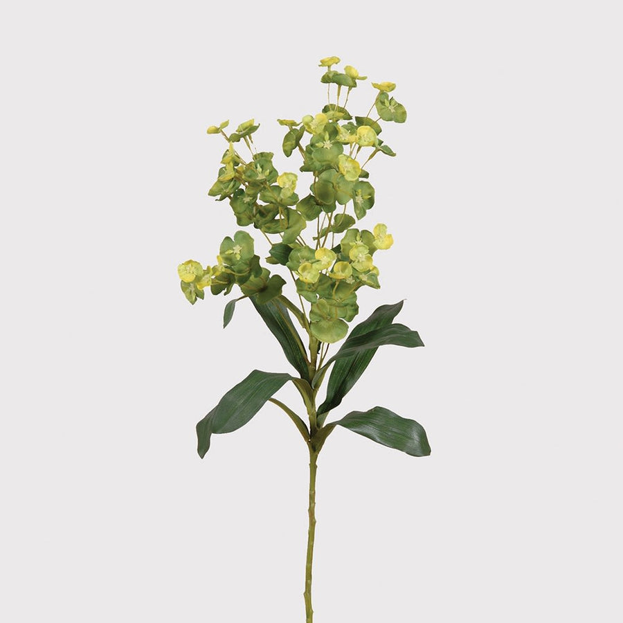 FAUX LIME GREEN EUPHORBIA SPRAY
