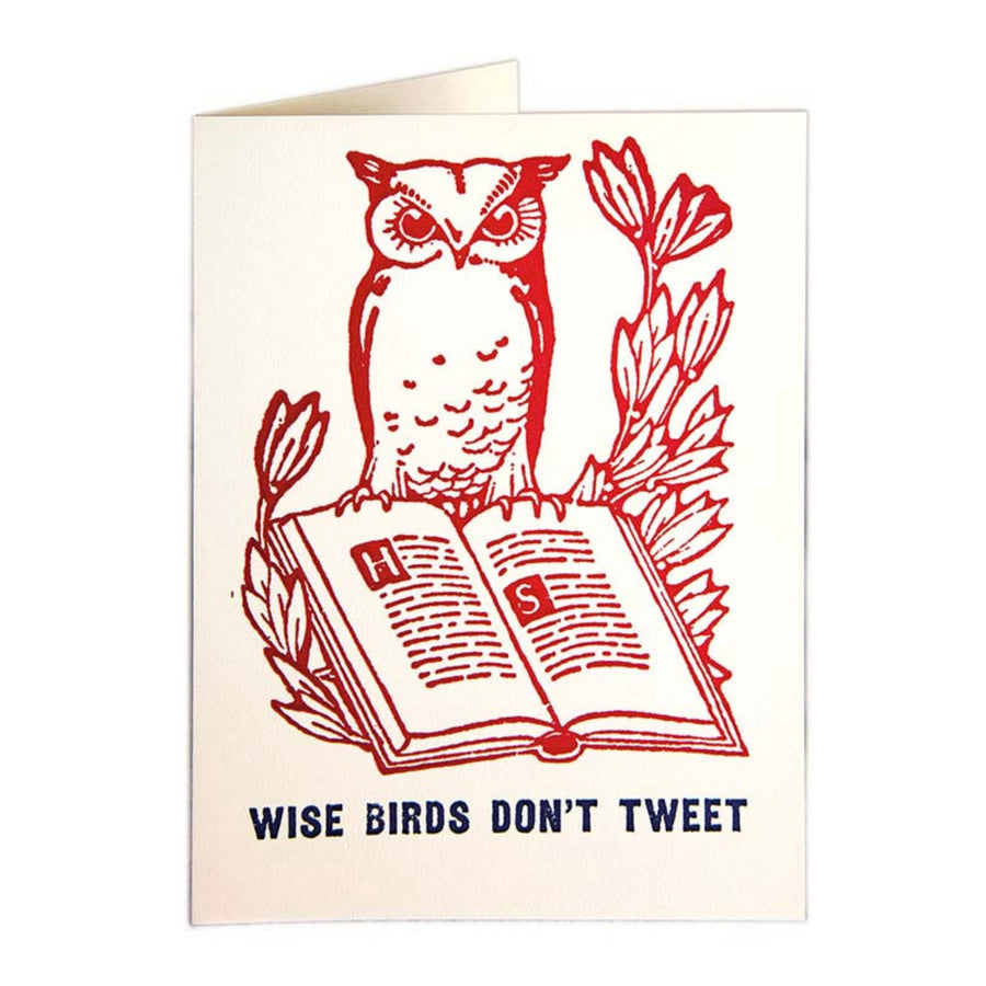 CARD | TWEETING OWL
