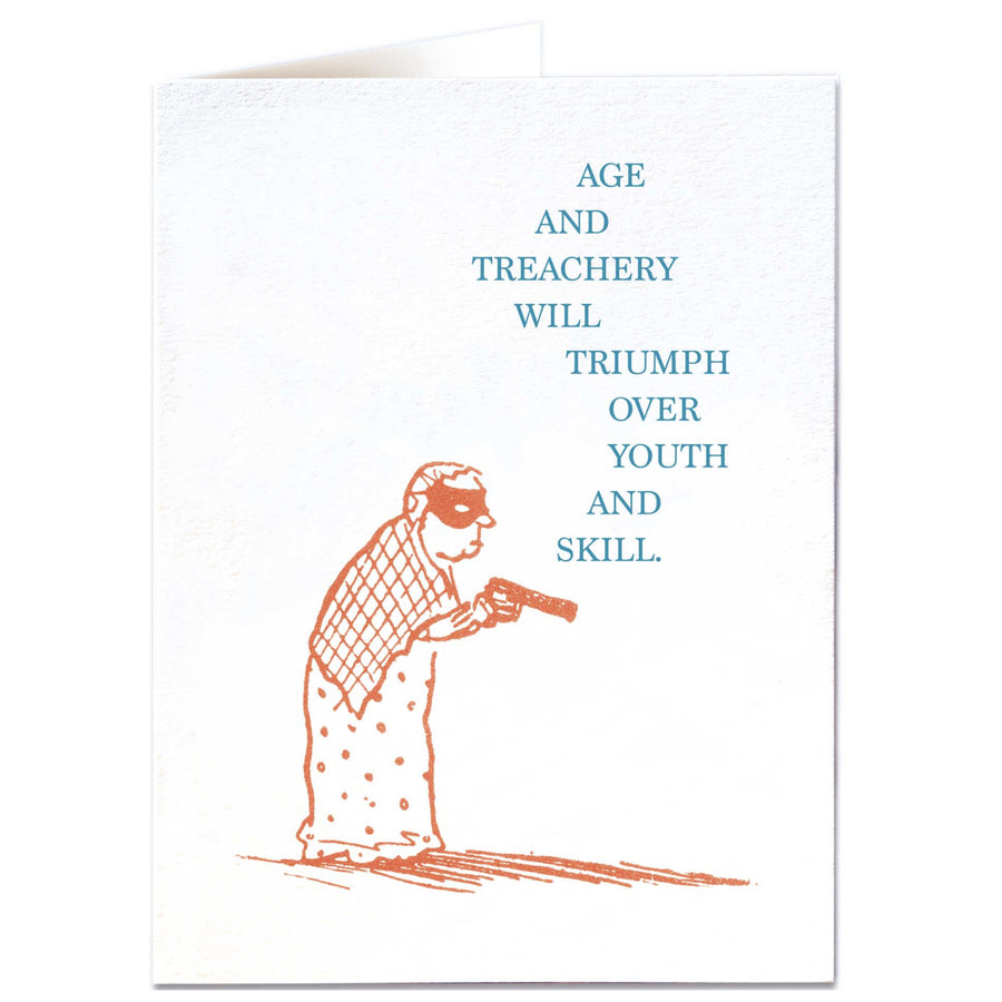 CARD | AGE & TREACHERY