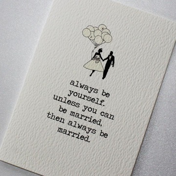 CARD | MARRIED