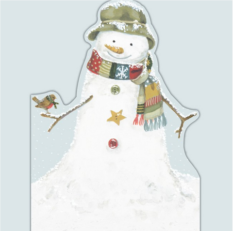 DIE CUT CARD | SNOWMAN