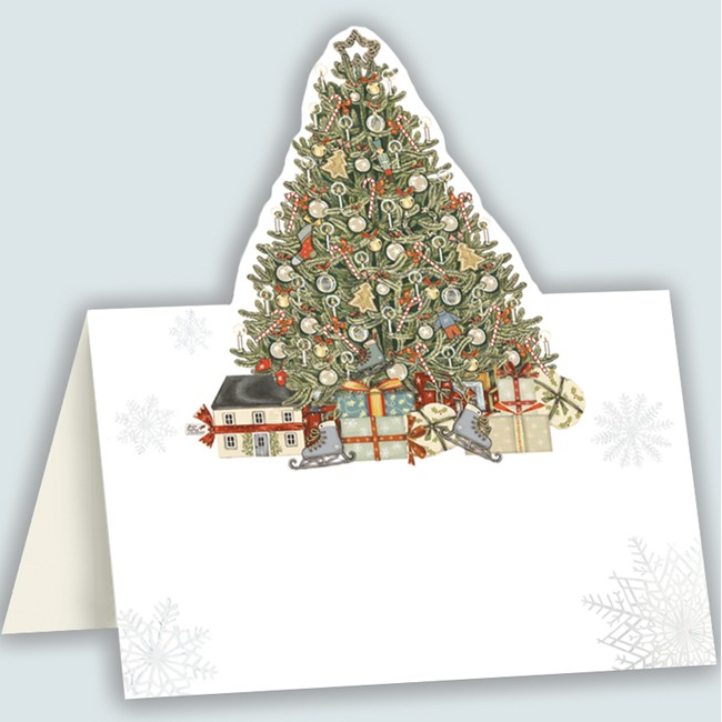 PACK 8 PLACECARDS | CHRISTMAS TREE