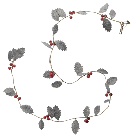 ZINC HOLLY GARLAND