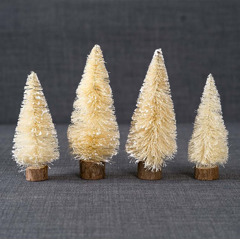 NORDIC BOTTLE BRUSH TREES | PACK 6