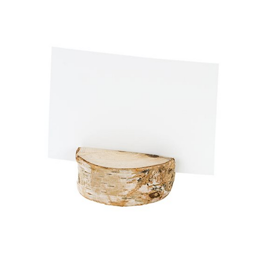NORDIC WOOD PLACE CARD HOLDER | SET 4
