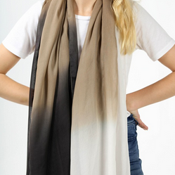 GOLDEN OMBRE SCARF