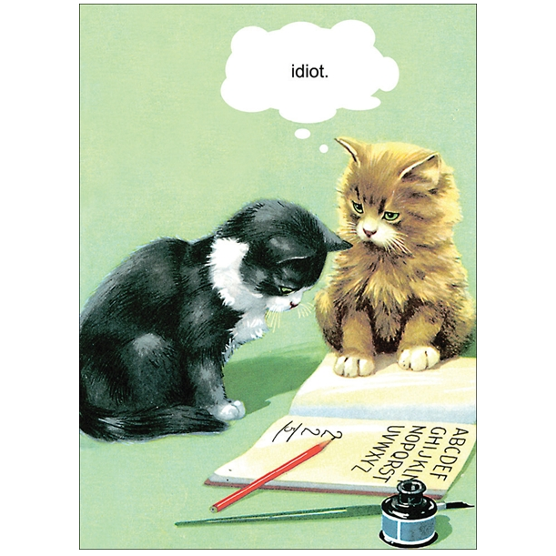 CARD | IDIOT CAT