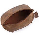 DISTRESSED RUGBY BALL WASHBAG