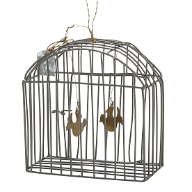 WALTHER & CO SMALL WIRE BIRDCAGES