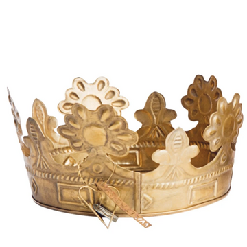 WALTHER & CO BRASS EMBOSSED CROWN