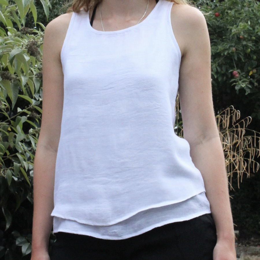 BAMBOO TWO LAYER VEST