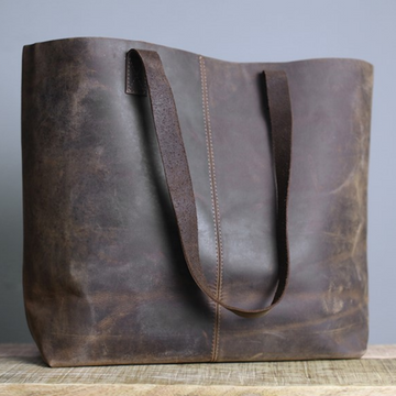 MASAMBE LEATHER SHOPPER