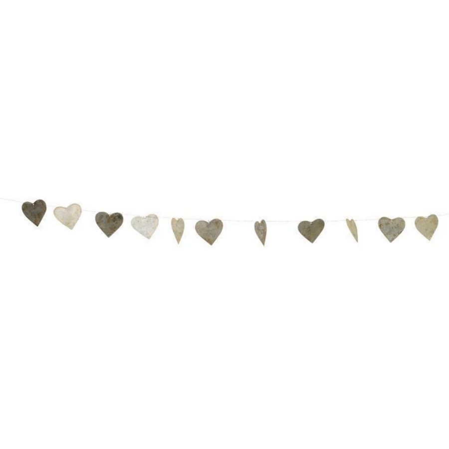 ABARI WIRE HEART GARLAND