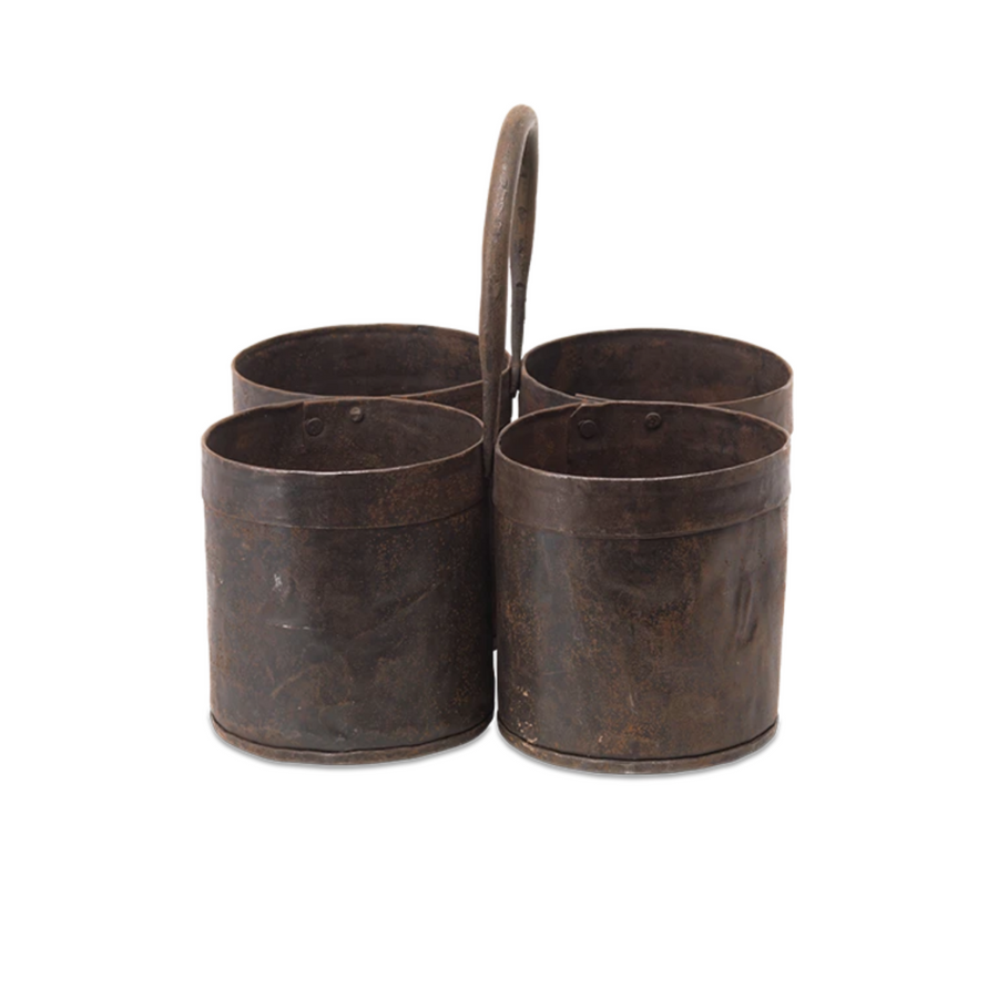 RECLAIMED DENDI STORAGE POT