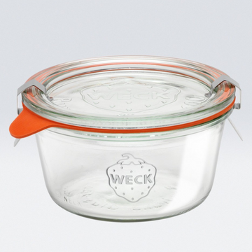 WECK STORAGE JAR SHORT 290ml
