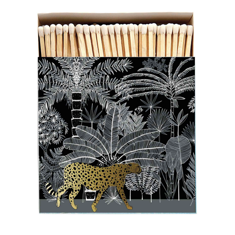 MATCHES | CHEETAH IN THE JUNGLE BLACK & GOLD