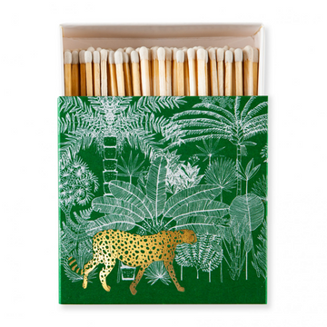 MATCHES | CHEETAH IN THE JUNGLE GREEN & GOLD