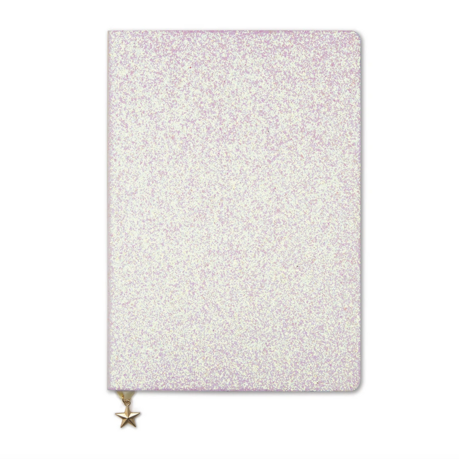 METALLIC GLITTER A5 NOTEBOOK | 4 COLOURS