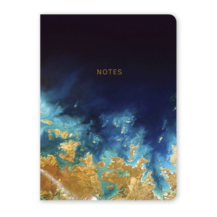 MARBLEOUS EARTH VIEW NOTEBOOK