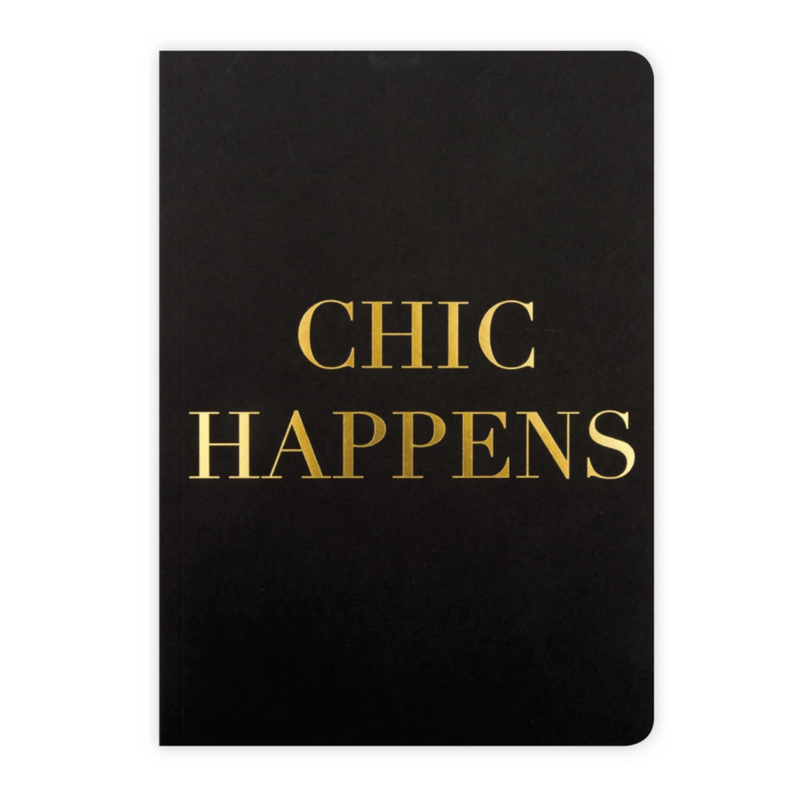 A5 NOTEBOOK | CHIC HAPPENS