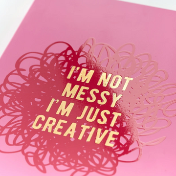 A5 NOTEBOOK | I'M NOT MESSY