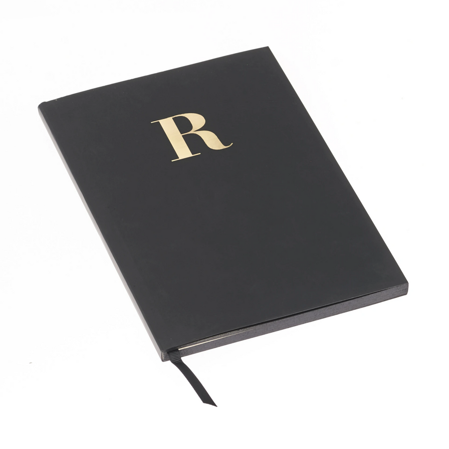 MONOGRAM A5 NOTEBOOK | BLACK