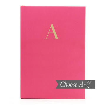 MONOGRAM A5 NOTEBOOK | CERISE PINK