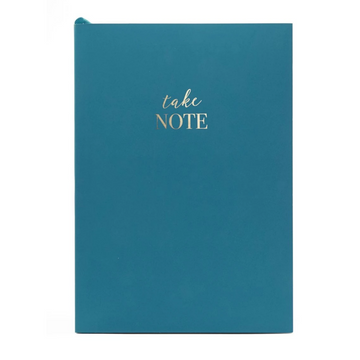WORDSMITH A5 PEACOCK NOTEBOOK | TAKE NOTE