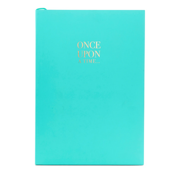 WORDSMITH A5 TEAL NOTEBOOK | ONCE UPON A TIME