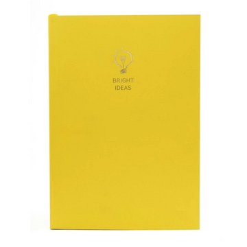 WORDSMITH A5 SAFFRON NOTEBOOK | BRIGHT IDEAS