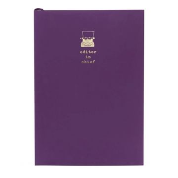 WORDSMITH A5 RICH PLUM NOTEBOOK | EDITOR IN CHIEF